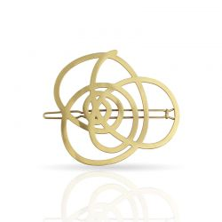 Hairpins Que Lio! Hairclip Gold