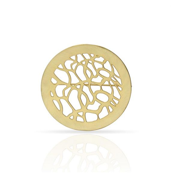 "Brooches Pin \""Lianas\\"" Gold"