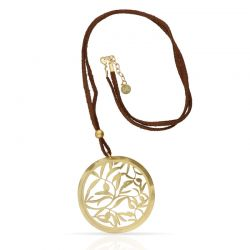 Necklace Olivo Pendant Gold
