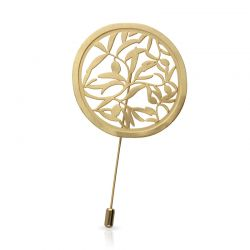 Brooches Olivo Brooch Gold
