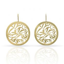 Olive Earrings Gold