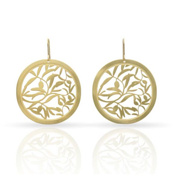 Earrings Olive Earrings Gold