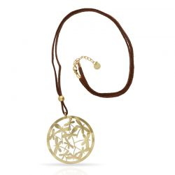 Dragon-fly Long Pendant Gold