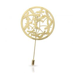 Brooches Libelulas Brooch Gold