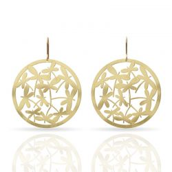 Earrings Libelulas Earring Gold