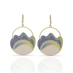 Earrings Balcon de Gaudi Earring Gold