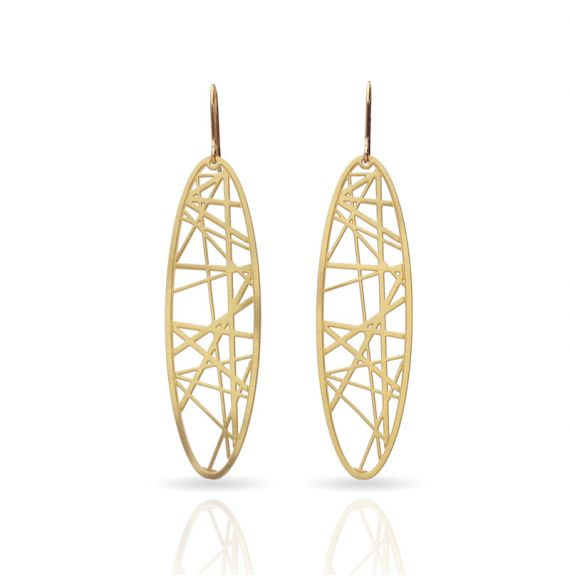 Earrings Cruce de Caminos Earring Gold