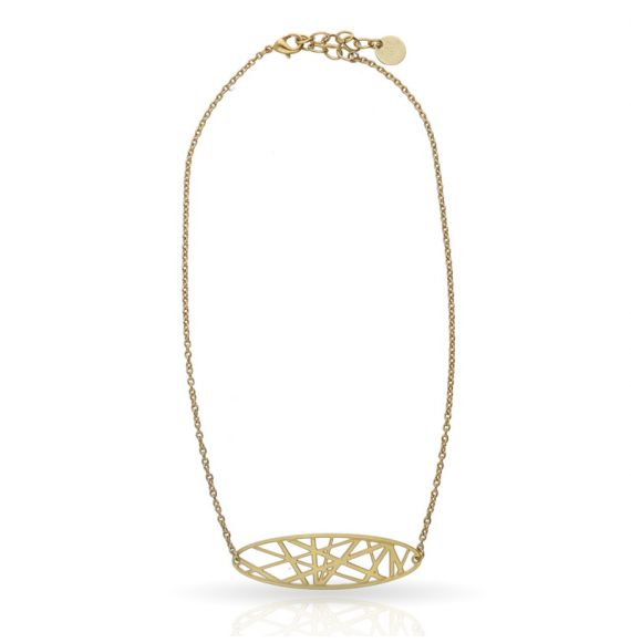 Chokers Crossroad Short Pendant Gold