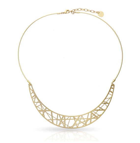 Chokers Crossroad Necklace Gold
