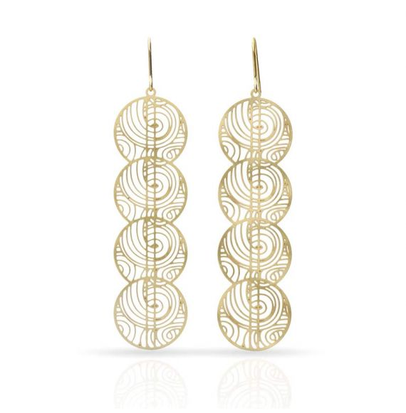 Dreams Gold Earring