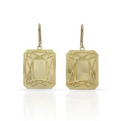 Earrings Piedras Preciosas Gold Small Earring
