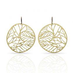Nature 2 Gold Earring