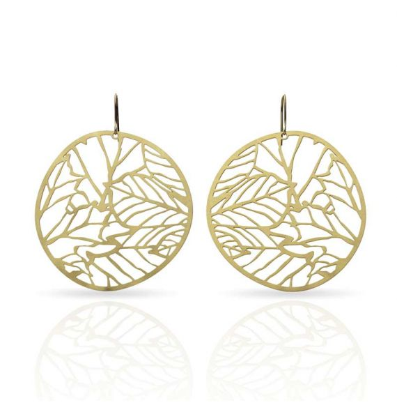 Earrings Nature 2 Gold Earring