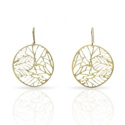 Earrings Nature 2 Small Earrings Gold