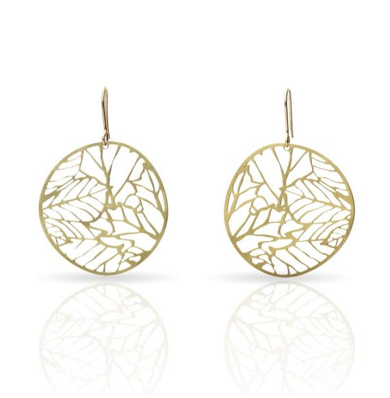 Nature 2 Gold Small Earring