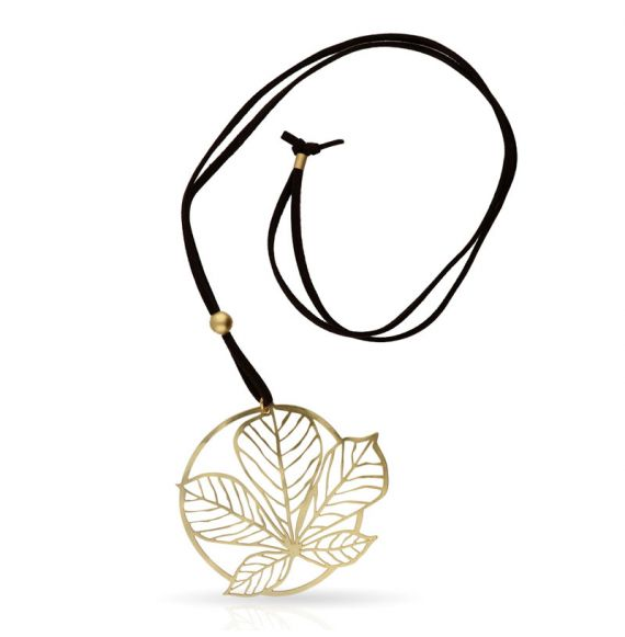 Nature 3 Gold Pendant