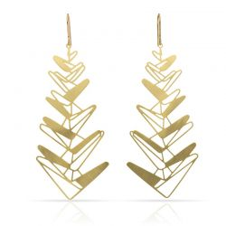 Earrings Espiga Gold Earring