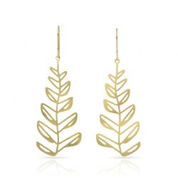 Earrings Espiga Earring Gold