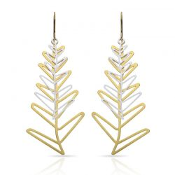 Earrings Espiga Gold/Silver Earring