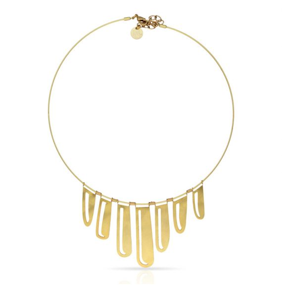 Chokers Nilo Short Pendant Gold
