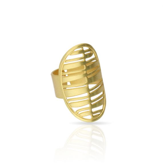Rings Nilo Oval Ring Gold
