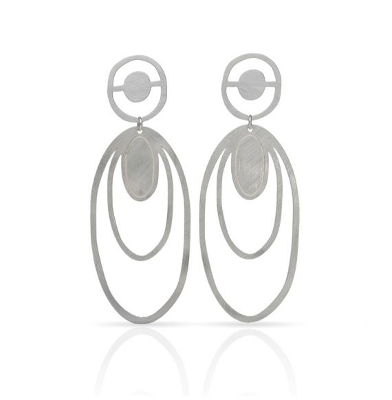 Earrings Mallorca Sol Large Earring Silver