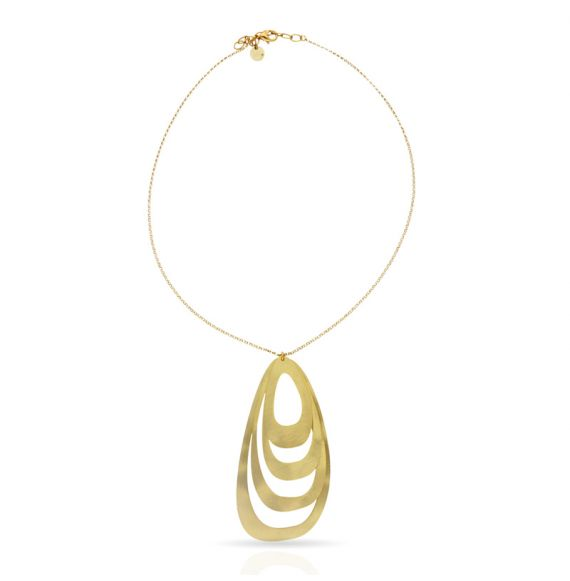 Menhir Mobile Short Pendant Gold
