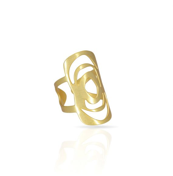 Rings Menhir Ring Gold
