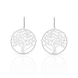 Earrings Tree of Life Earrings Silver