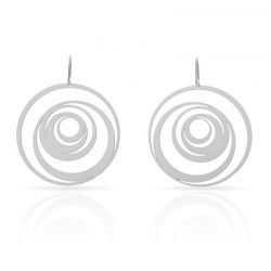 Earrings Excentrico Earring Silver