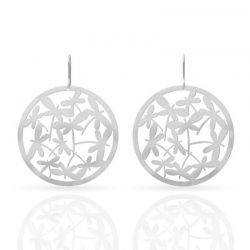 Libelulas Silver Earrings