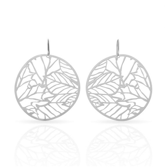Earrings Nature 2 Earrings Silver
