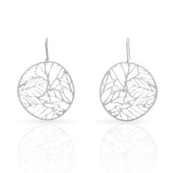 Earrings Nature 2 Small Earrings Silver