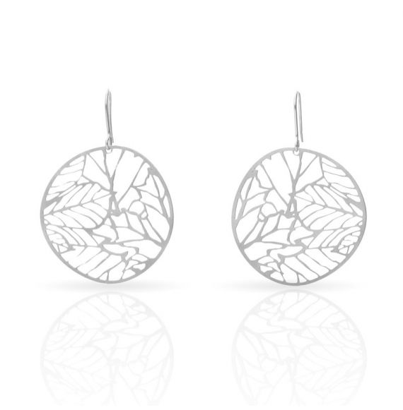 Nature 2 Silver Small Earring