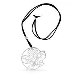 Nature 3 Necklace Silver