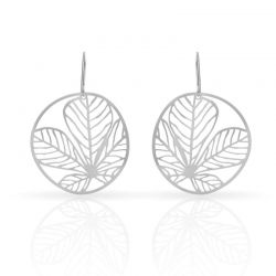 Earrings Nature 3 Small Earrings Silver
