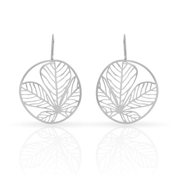 Earrings Nature 3 Small Earring Silver