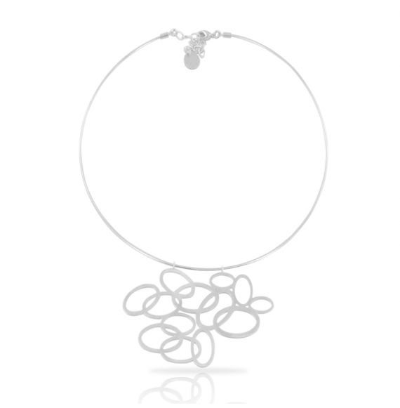 Chokers Closer Short Pendant Silver