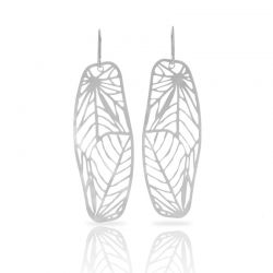 Nature 1 Earrings Silver