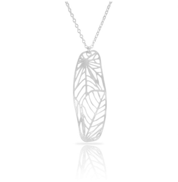Nature 1 Silver Short Pendant