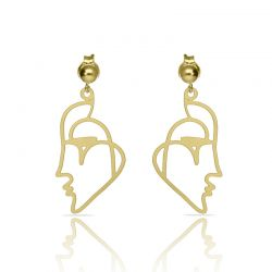 Beso Venecia Gold Earring