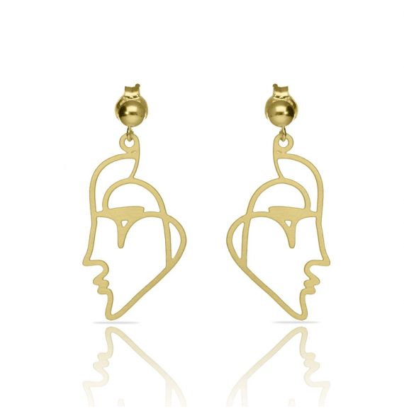 Earrings Beso Venecia Earring Gold