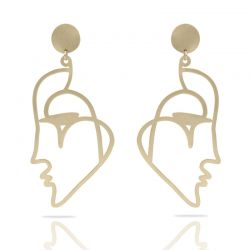 Earrings Beso Venecia XL Earring Gold
