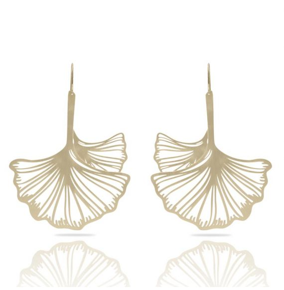 Earrings Ginkgo Biloba XL Earring Gold
