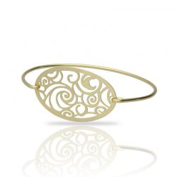 The Starry Night Gold Clic Bracelet