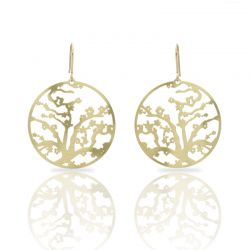 Earrings Almond Blossom Gold Earring