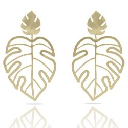 Adan Gold XL Earring