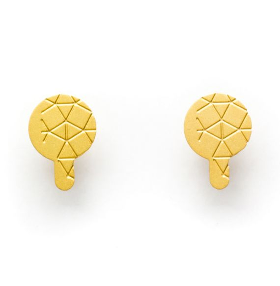 Earrings Earring Empreinte II Gold