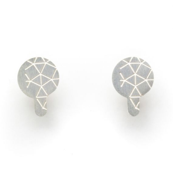 Earrings Empreinte II Earring Silver