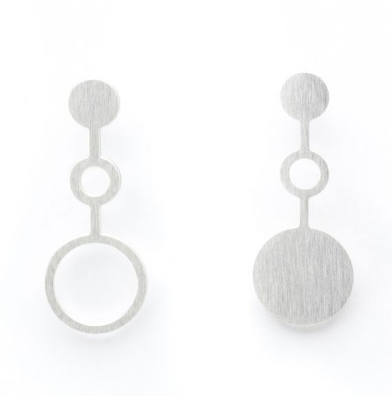 Ondes Earring Silver